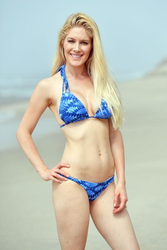 HEIDI MONTAG in Bikini on the Beach in Laguna Beach 07/26/2018