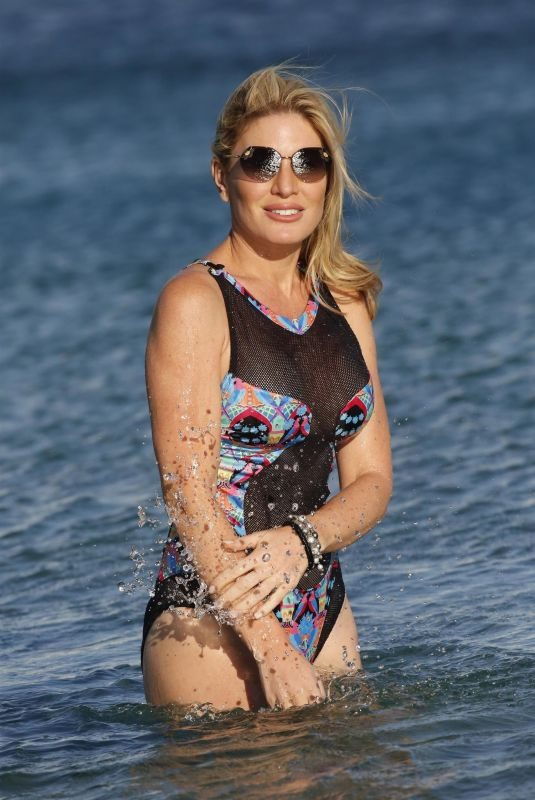 HOFIT GOLAN in Swimsuit at a Beach in Mykonos 08/12/2018