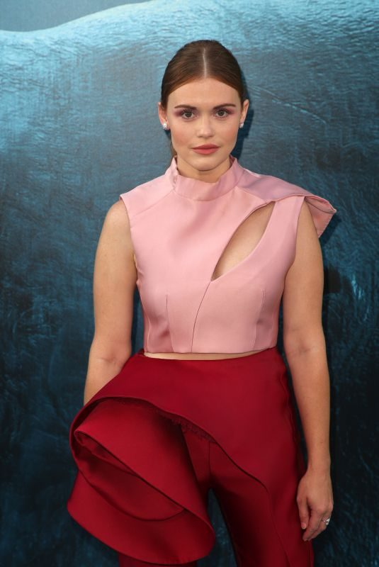HOLLAND RODEN at The Meg Premiere in Hollywood 08/06/2018