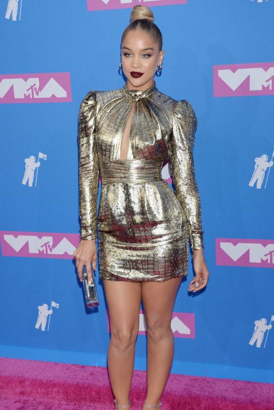 JASMINE SANDERS at MTV Video Music Awards in New York 08/20/2018