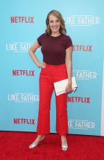 JEN ZABOROWSKI at Like Father Premiere in Los Angeles 07/31/2018