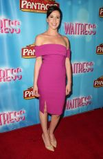 JENNIFER BARTELS at Waitress National Tour at Hollywood Pantages Theatre 08/03/2018