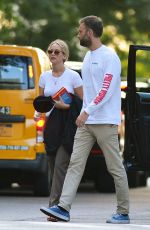 JENNIFER LAWRENCE and Cooke Maroney Out in New York 08/26/2018