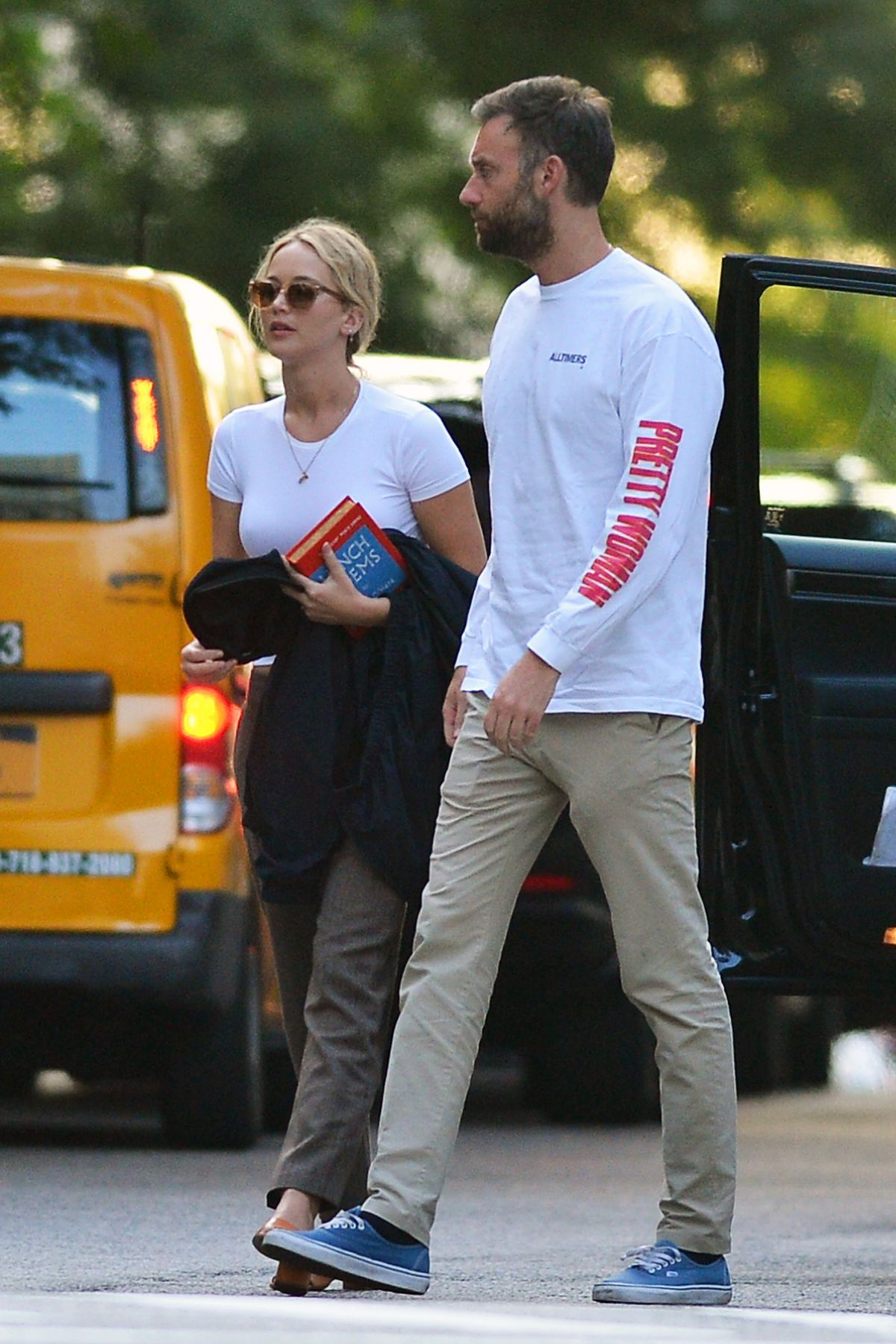JENNIFER LAWRENCE and Cooke Maroney Out in New York 08/26 ...