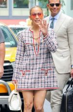 JENNIFER LOPEZ and Alex Rodriguez Out in New York 08/17/2018