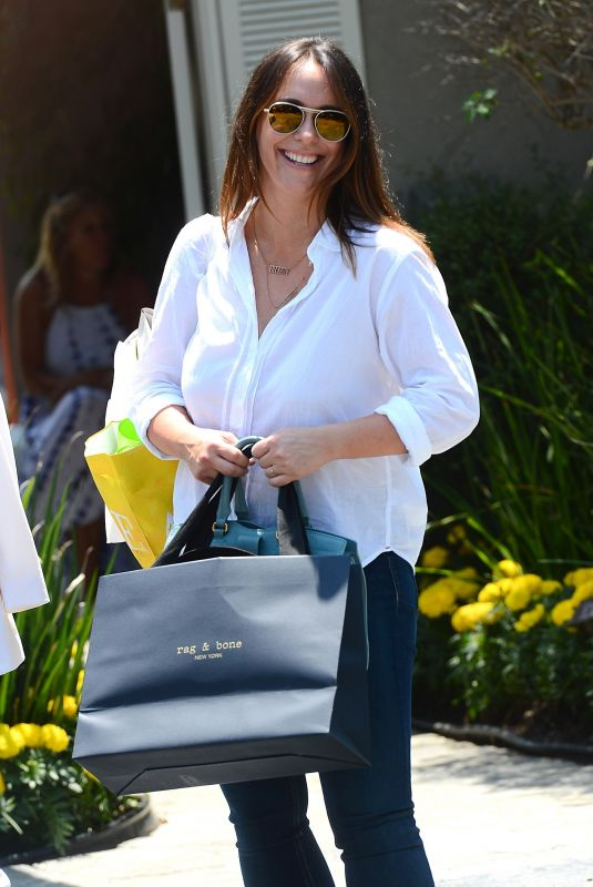JENNIFER LOVE HEWITT at Day of Indulgence Party in Los Angeles 08/12/2018