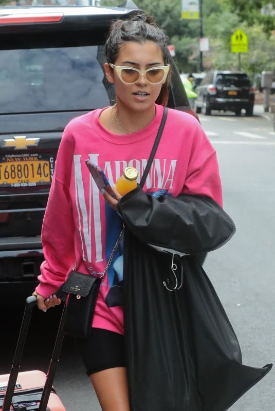 JESSICA ANDREA Leaves Greenwich Hotel in New York 08/21/2018