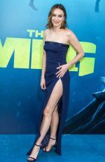 JESSICA MCNAMEE at The Meg Premiere in Hollywood 08/06/2018