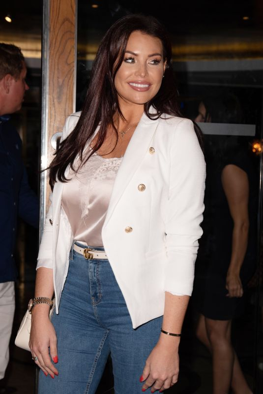 JESSICA WRIGHT at Kiss Nails and Lashes x Billie Faiers Launch Party in London 08/16/2018