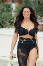 JESSICA WRIGHT in Bikini Out in Ibiza 08/26/2018
