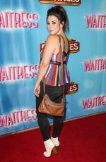 JILLIAN ROSE REED at Waitress National Tour at Hollywood Pantages Theatre 08/03/2018