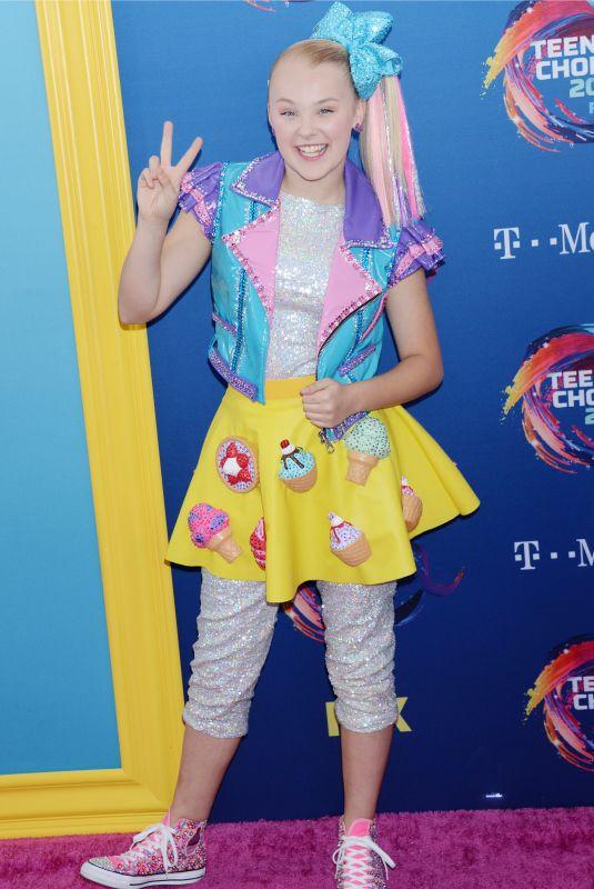 JOJO SIWA at 2018 Teen Choice Awards in Beverly Hills 08/12/2018