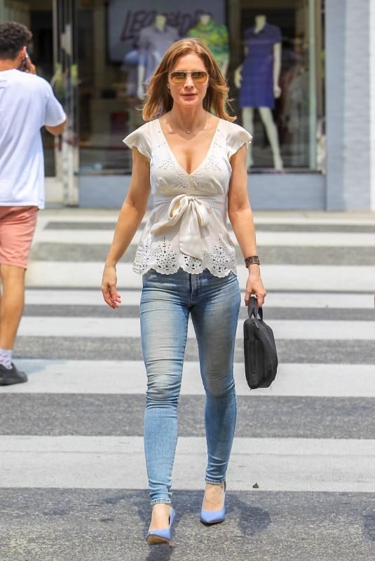 JOSIE DAVIS Out and About in Beverly Hills 08/10/2018