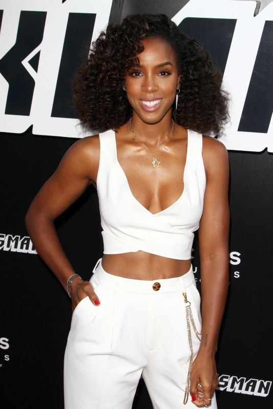 KELLY ROWLAND at Blackkklansman Premiere at Samuel Goldwyn Theatre in Los Angeles 08/08/2018