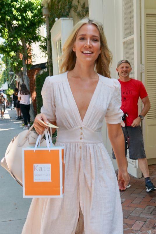 KRISTINA CAVALLARI Leaves Kate Somerville in West Hollywood 08/17/2018