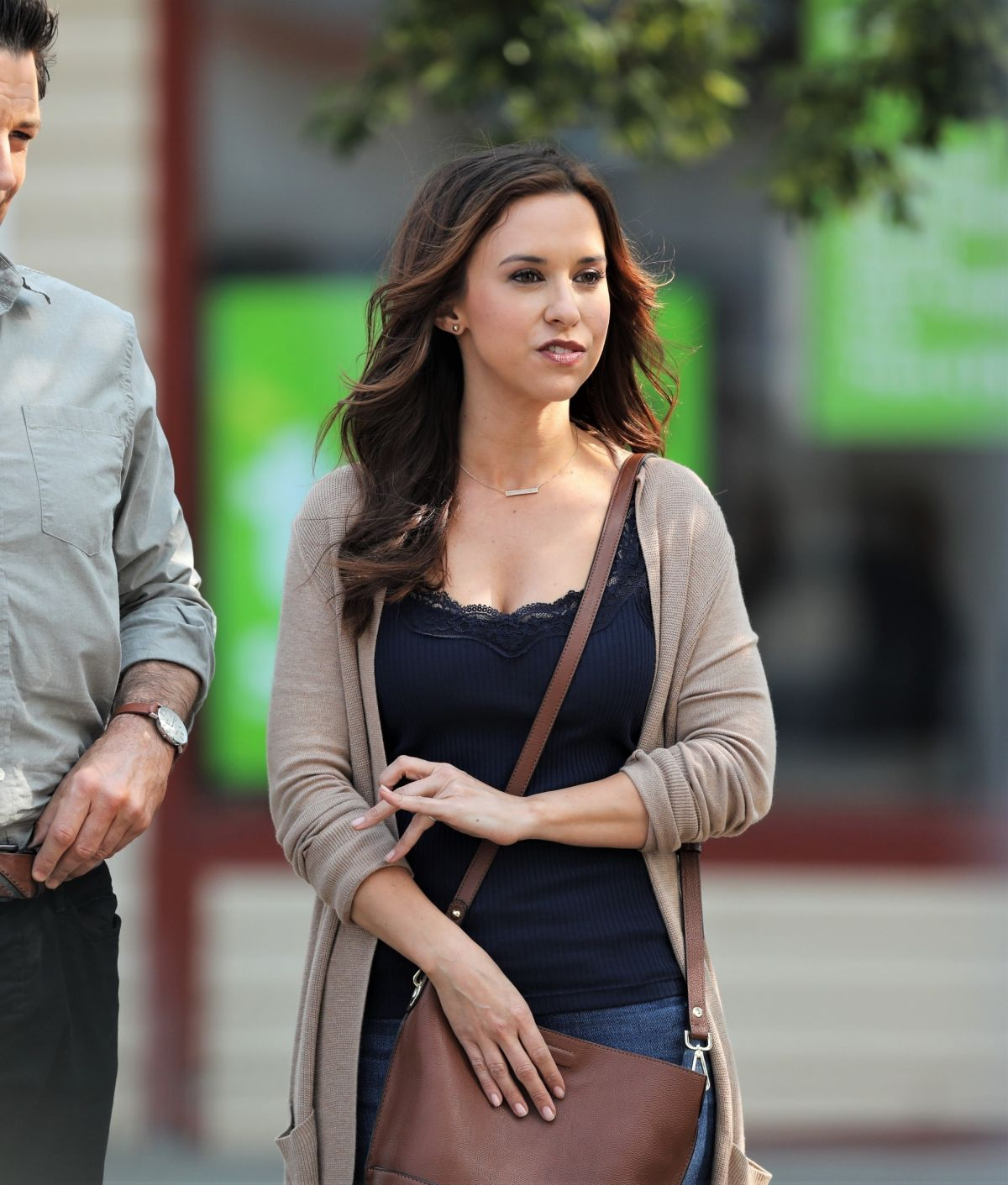 Lacey Chabert Wedding.Lacey Chabert On The Set Of Aall Of My Heart The Wedding In