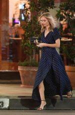 LAURA VANDERVOORT Night Out in Los Angeles 08/27/2018