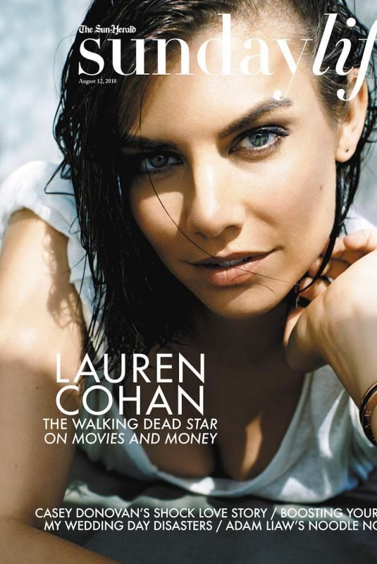 LAUREN COHAN on the Cover of Sunday Life Magazine, August 2018