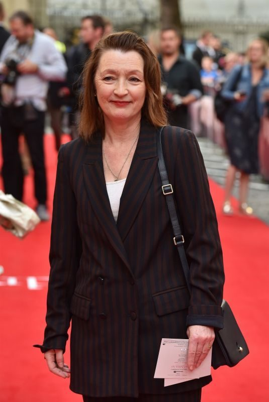 LESLEY MANVILLE at The Children Act Premiere in London 08/16/2018