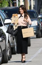LISA VANDERPUMP Out Shopping in West Hollywood 08/14/2018