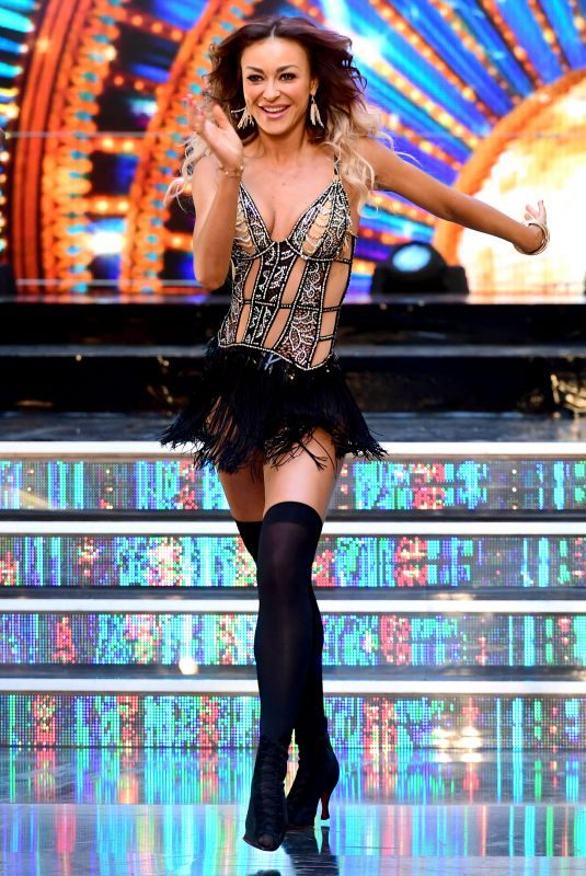 LUBA MUSHTUK at Strictly Come Dancing Launch in London 08/27/2018