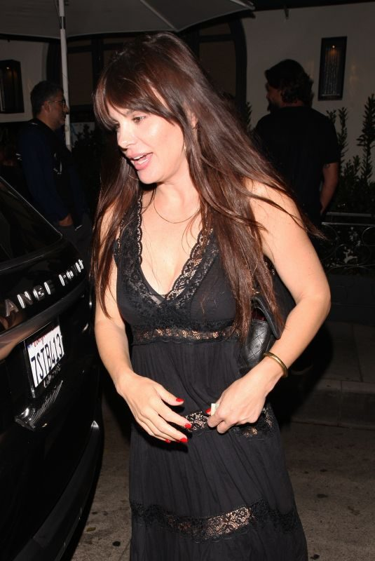 LUCILA SOLA at Madeo Restaurant in Beverly Hills 08/16/2018