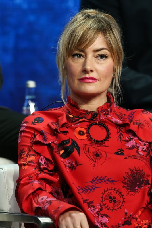 MADCHEN AMICK at Riverdale Panel at TCA Summer Tour in Los Angeles 08/06/2018