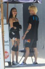 MADISON BEER Out for Lunch at Urth Caffe in Hollywood 08/13/2018
