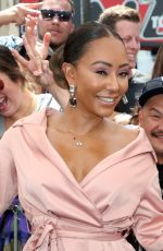 MELANIE BROWN at Simon Cowell Star on the Hollywood Walk of Fame Ceremony 08/22/2018