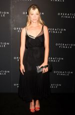 MELANIE LAURENT at Operation Finale Premiere in New York 08/16/2018