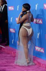 NICKI MINAJ at MTV Video Music Awards in New York 08/20/2018