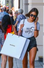 OLIVIA CULPO in Daisy Dukes Out Shopping in Beverly Hills 08/04/2018
