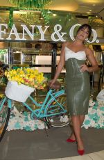 OLYMPIA VALANCE at Tiffany & Co Paper Flowers Event in Melbourne 08/28/2018