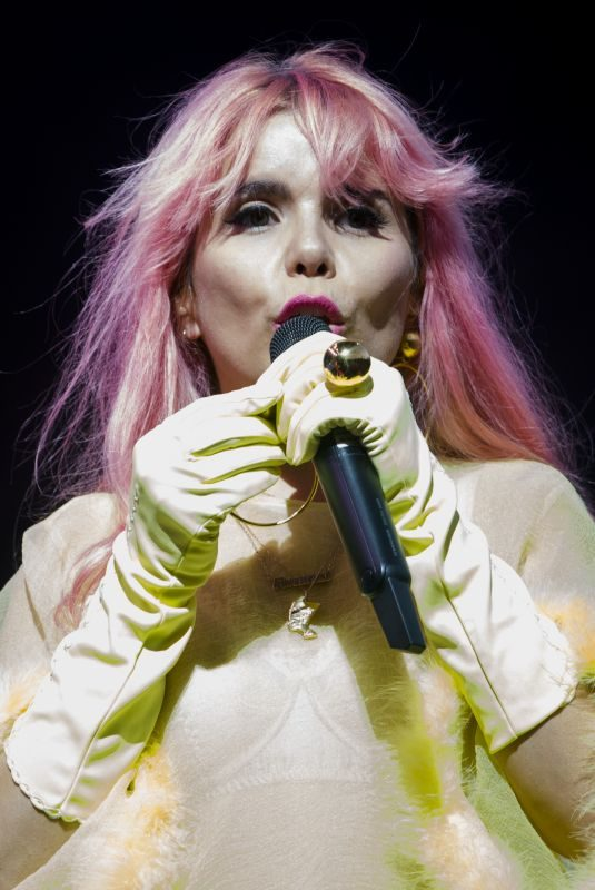 PALOMA FAITH Performs at Edinburgh's Summer Sessions in Glasgow 08/17/2018