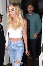 PETRA ECCELSTONE at Madeo Restaurant in Beverly Hills 08/16/2018