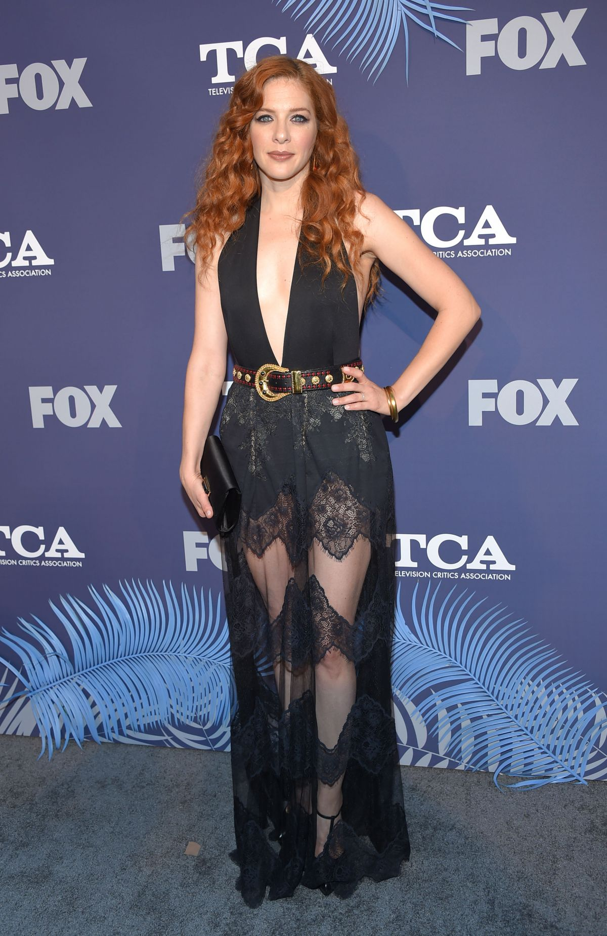 RACHELLE LEFEVRE at Fox Summer All-star Party in Los Angeles 08/02/2018