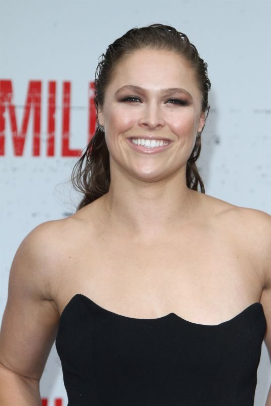 RONDA ROUSEY at Mile 22 Premiere in Los Angeles 08/09/2018