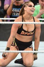 RONDA ROUSEY at WWE Summerslam 2018 in Brooklyn 08/19/2018