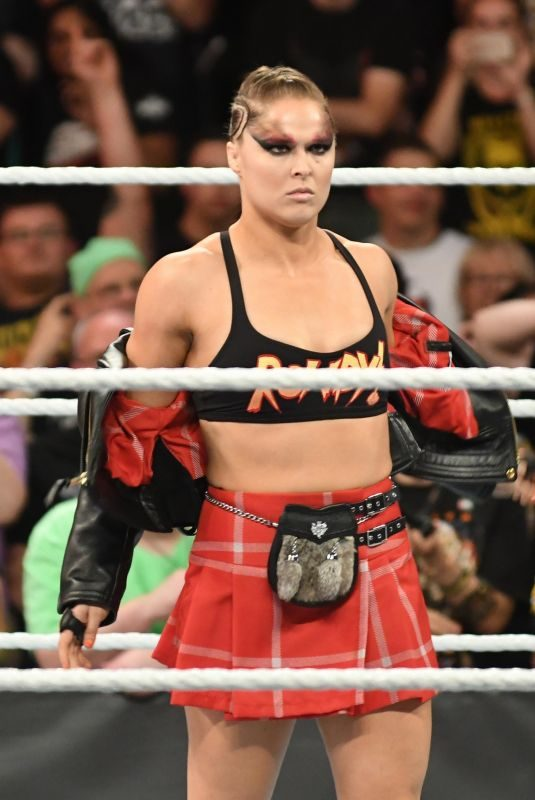 RONDA ROUSEY at WWE Summerslam 2018 in Brooklyn 08/19/2018