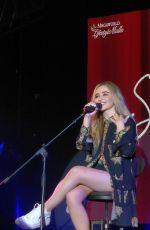 SABRINA CARPENTER Performs at Live & Acoustic in Manilla 08/24/2018