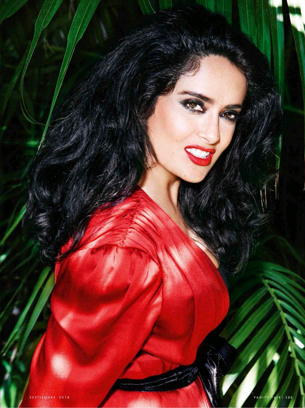 SALMA HAYEK in Vanity Fair Magazine, September 2018 Issue – HawtCelebs