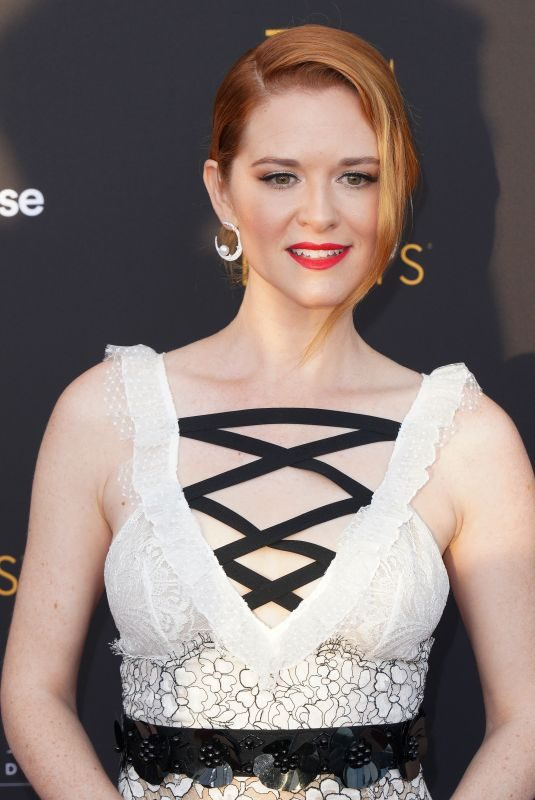 SARAH DREW at Television Academy's Performers Peer Group Celebration in Los Angeles 08/20/2018
