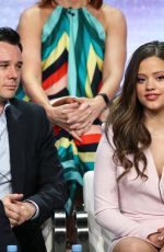 SARAH JEFFERY at Charmed Panel TCA Summer Tour in Los Angeles 08/06/2018
