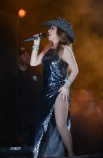 SHANIA TWAIN Performs at Cowboy Festival of Barretos in Sao Paulo 08/19/2018