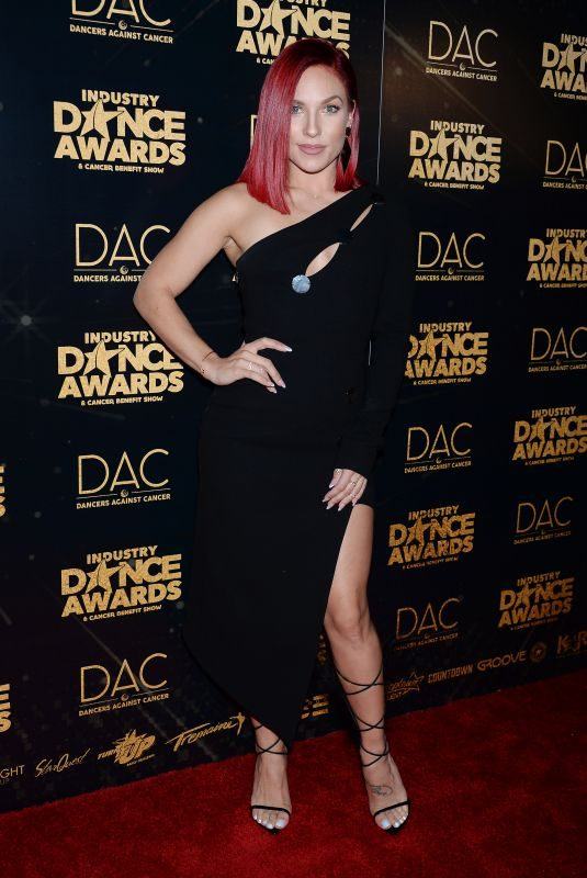 SHARNA BURGES at Industry Dance Awards 2018 in Hollywood 08/15/2018