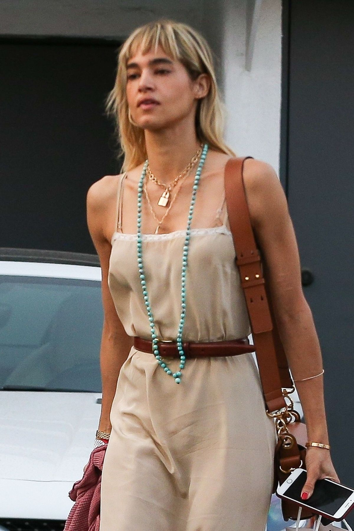 SOFIA BOUTELLA Leaves Meche Salon in Beverly Hills 08/11