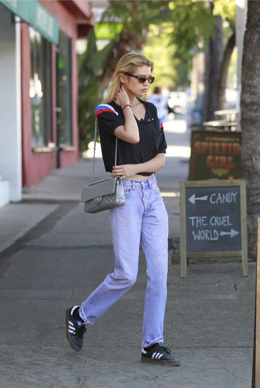 STELLA MAXWELL Out Shopping in Los Angeles 08/23/2018