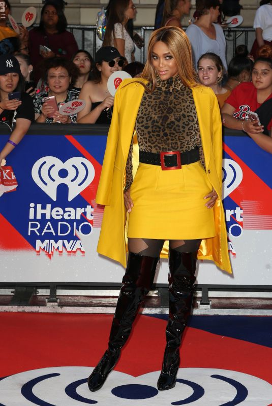 TYRA BANKS at 2018 Iheartradio Muchmusic Video Awards in Toronto 08/26/2018