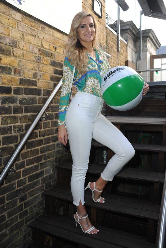 VICTORIA BROWN at Gillette's Summer Drinks at Sanctum Hotel in London 08/15/2018