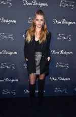 ABBEY LEE KERSHAW at Dom Perignon & Lenny Kravitz: Assemblage Exhibition in New York 09/28/2018